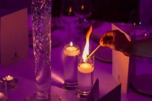 decorative hurricane candle holders